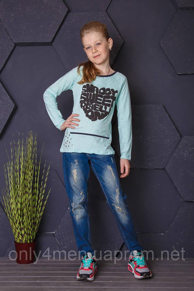 Джемпер для девочек, турецкий селфи128-176