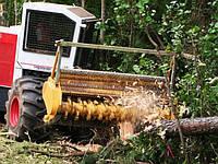 Универсальный лесной измельчитель (мульчер) MIDIFORST
