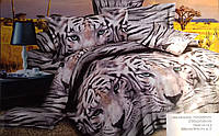 """Стеганное покрывало """"Тигры"""", евро размер"""