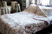 Плед Karaca Home Dalen 220*240 пудра евро размера