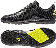 Бутсы мужские Adidas X 15.4 TF Black . кроссовки, кроссовки, кроссовки