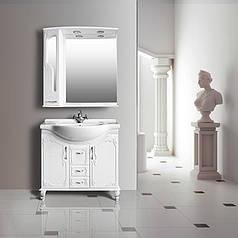 Комплект мебели Ольвия (Атолл) Барселона белое дерево 85 lucido