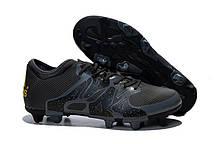 Бутсы мужские Adidas X 15.1 FG Black . кроссовки, кроссовки