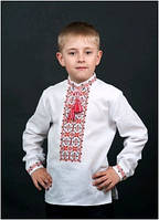 Вышиванка детская для мальчика мужская ТМ Два Кольори 0108 хлопок