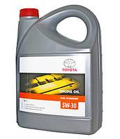 Оригинальное синтетическое масло моторное TOYOTA 5W-30 (EU) 5L 08880-80845