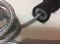 Скакалка SPEED ROPE из стального тросса на подшипниках POWER SYSTEM Чехия