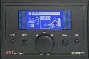 Автоматика RK-2006LPG2(2A) для пеллетной горелки для водогрейных котлов