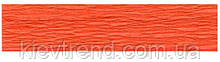 Гофрированная бумага оранжевая № 6  Interdruk