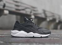 Женские кроссовки Nike Air Huarache Black/White (36-40 Размер)(ТОП РЕПЛИКА ААА+)