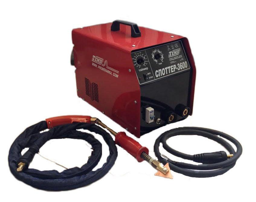 Споттер-3600 ТЕМП Споттерный аппарат точечной сварки и рихтовки вмятин на металле
