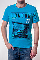 Мужская футболка PEPE JNS London (голубая)