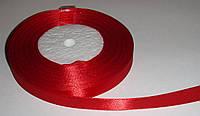 Лента атласная 6 мм, Красная
