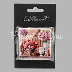 Магнит «Прованс. Розы», 5х5 см.