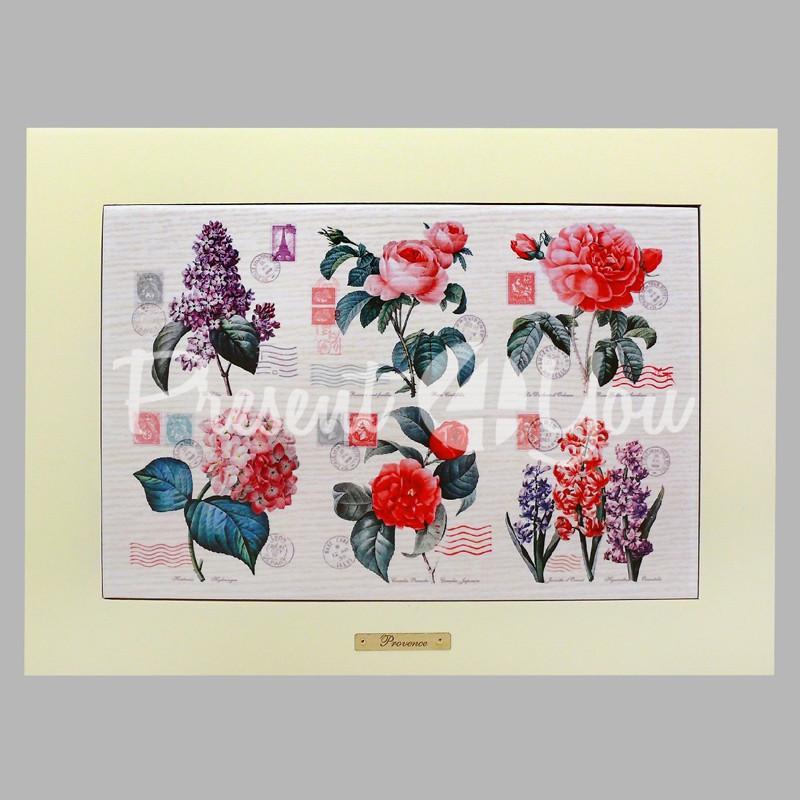 Панно настенное «Прованс. Цветы», 20х30, 28х38 см.