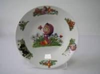 Тарелка для первых блюд № 8 Маша и медведь  200 мм