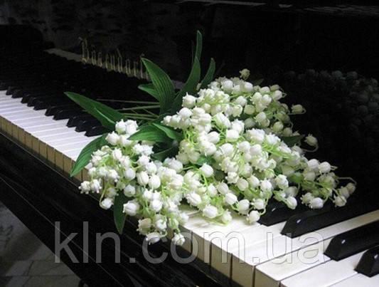 Алмазная выкладка Цветы на клавишах рояля KLN 30 х 40 см (арт. FR097)