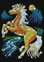 """Мозаика блестками """"Лошадь"""""""