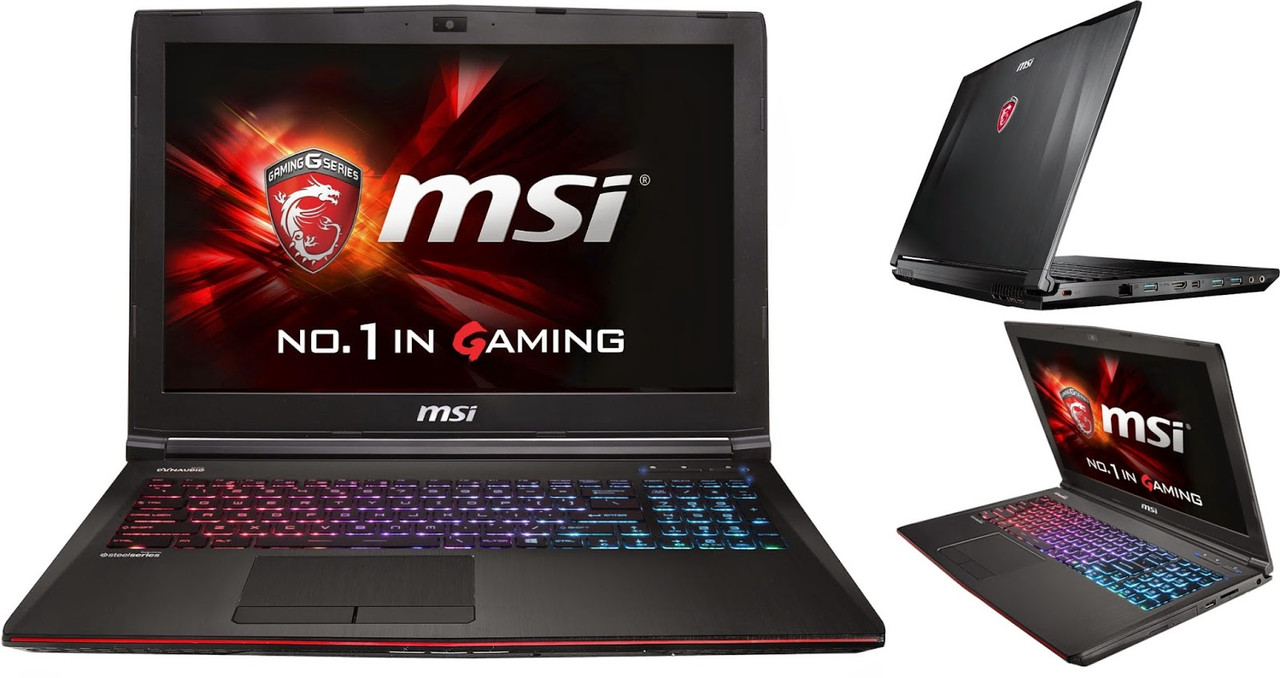 Ноутбук MSI GE62 6QC-020XPL Apache (GE626QC-020XPL) RAM:8GB + Windows 8.1