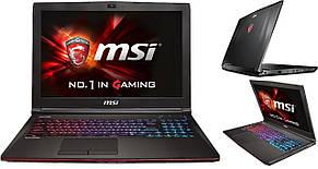 Ноутбук MSI GE62 6QC-020XPL Apache (GE626QC-020XPL) RAM:8GB