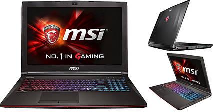 Ноутбук MSI GE62 6QC-020XPL Apache (GE626QC-020XPL) RAM:8GB, фото 2