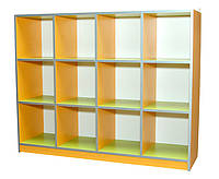 Шкаф детский для горшков 12 мест (28498)