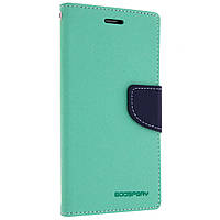 Чехол книжка Mercury Fancy Diary для Lenovo P70 Mint / Navy