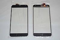 Оригинальный тачскрин / сенсор (сенсорное стекло) для Meizu MX4 (черный цвет, чип Synaptics) + СКОТЧ В ПОДАРОК