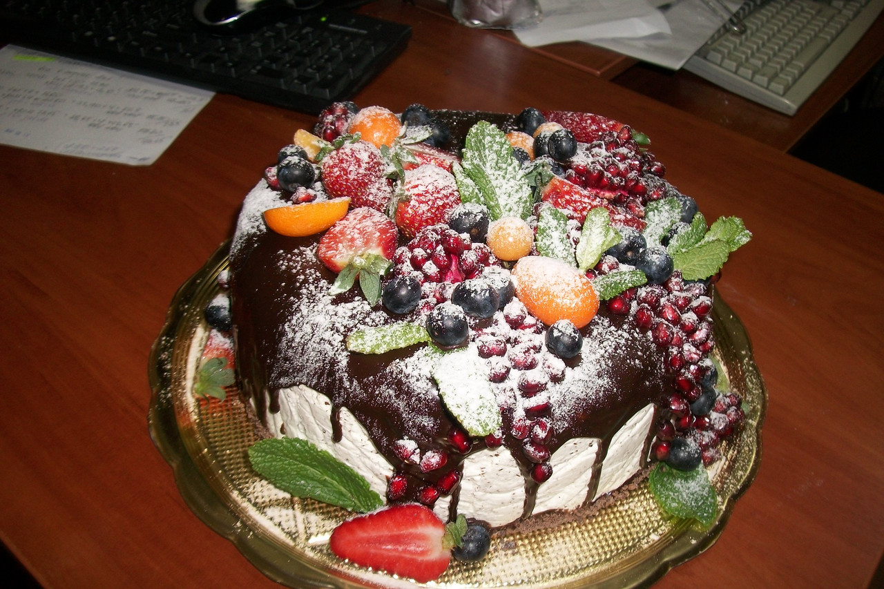 Торт на заказ Экзотик-Рустик