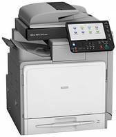 МФУ Ricoh MP C401SRSP высокого качества. Цветной принтер/сканер/копир.