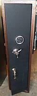 сейф с электронным замком для двух ружей