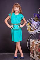 Модное платье детское с баской