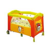 Манеж Baby Care M160 оранжевый Bear Orange