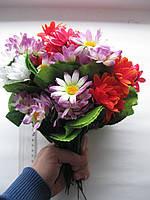 """Букет из искусственных цветов """"Хризантема"""""""