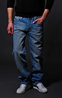 Мужские голубые джинсы - Versace