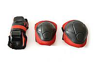 Комплект защиты для роликов, детская и подростковая: S, М, разн цвета.