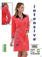 Велюровый халат Intensive 7065 размер M