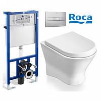 Набор инсталляция Roca Pro с унитазом Roca Nexo 89009N+801330N04+890096