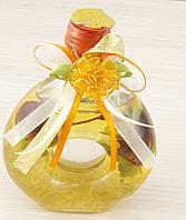 Декоративная масляная лампа желтая130х85мм