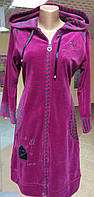 Велюровый халат Birlik 6036 размер M, фото 1