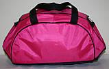 Сумка спортивная Nike розовая черная, фото 3