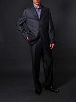 Мужской серый костюм - Zilli