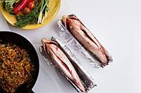 Подставка для приготовления рыбы (нержавейка) «Пузо»