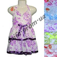 Котоновое платье для девочек KT2 (4-7 лет) оптом со склада в Одессе