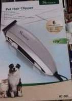 Триммер машинка для стрижки собак и кошек Surker HC-585 (6 насадок), Суркер 585