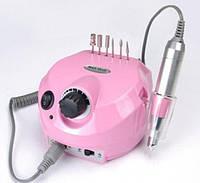 Фрезер для маникюра и педикюра  Nail Drill ZS-601 35 Вт, на 35000 оборотов, розовый