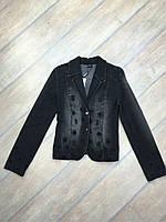 """Куртка джинсовая женская """"Guitar"""" модная пиджак"""
