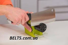 Бездротова точило для ножів та ножиць Swifty Sharp Motorized Knife Sharpener (ножеточка Свифти Шарп)