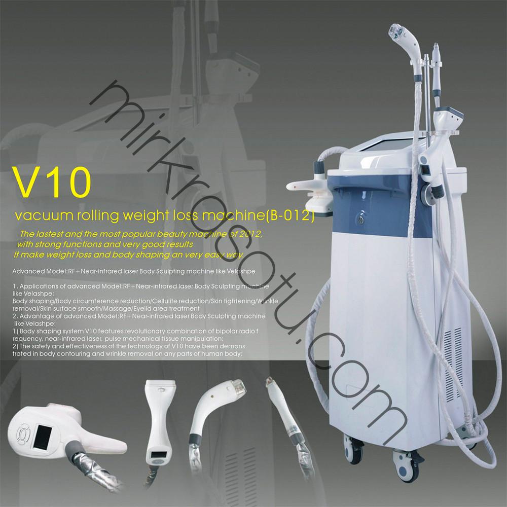 Многофункциональный Velashape V10  - 4 роллера
