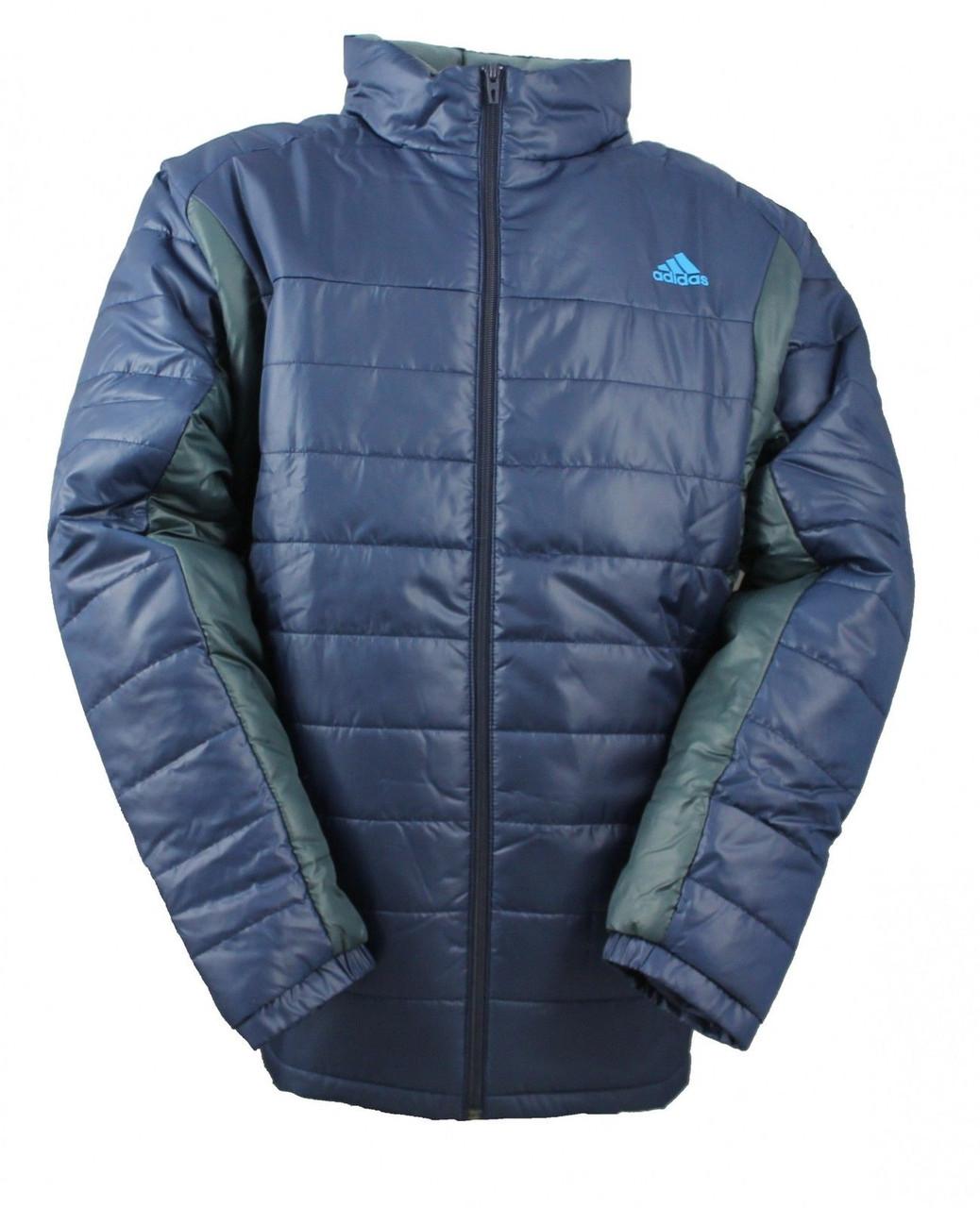 Куртка непромокаемая спортивная мужская adidas Men's Padded Jacket M68416 адидас