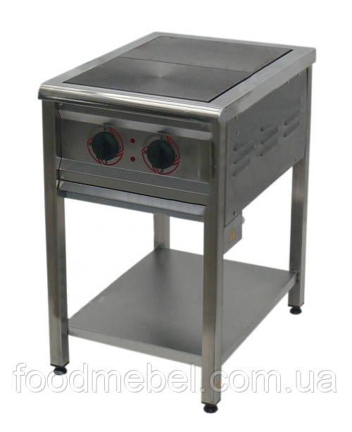 Плита электрическая промышленная 2-х конфорочная ПЕ-2 Н